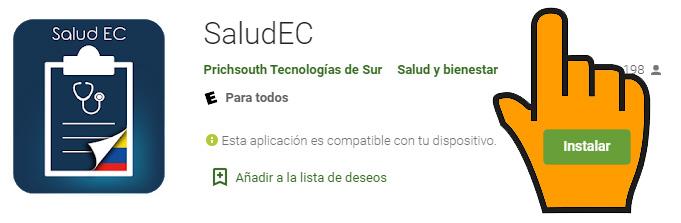 APP SALUDEC Salud EC