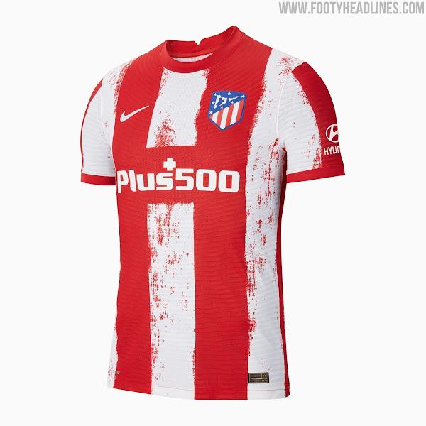Atletico Madrid 21-22 Home Kit Released - Footy Headlines