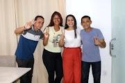 Candidatos a vereador pelo PT de Pedreiras declaram apoio a Vanessa Maia.