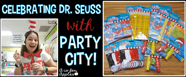 Dr. Seuss party ideas for the classroom   A is for Apples