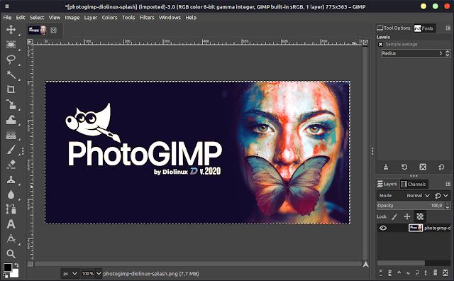 How to Modify GIMP to Look Like Photoshop Using PhotoGIMP