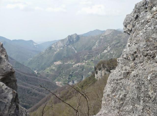 Panorama sulla valle di Cardoso
