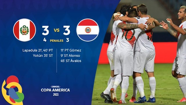 Copa América: Peru derrota Paraguai nos pênaltis e está na semifinal