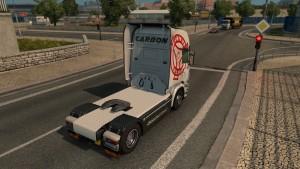 Scania RJL Carbon skin