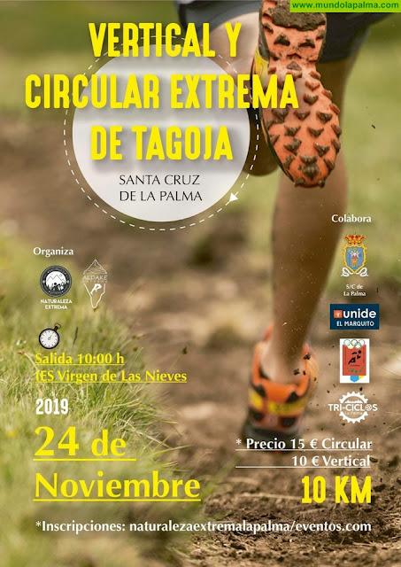 La carrera Vertical y Circular Extrema de Tagoja cierra el plazo de inscripción el 17 de noviembre