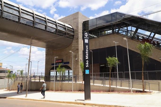Novas estações da Linha 15-Prata do monotrilho passam a operar em tempo integral