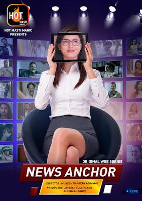 News anchor web series hot masti