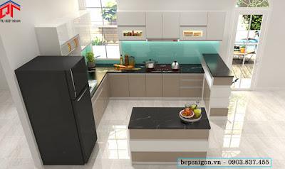 tu bep, tủ bếp, tủ bếp đẹp, tủ bếp hiện đại