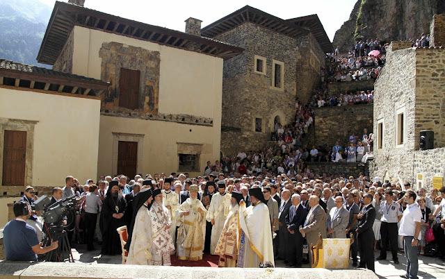 Ούτε φέτος θα τελεστεί Λειτουργία στην Παναγία Σουμελά Τραπεζούντας