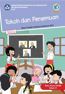 Buku Tematik 3 Kelas 6 Tokoh dan Penemuan PDF