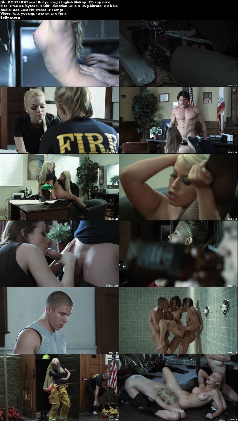 Body HeaT 2010 BluRay 400Mb Full English Movie Download 480p