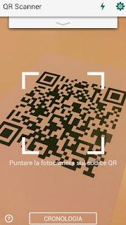 programma Kaspersky QR Scanner