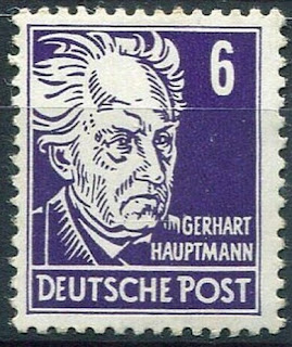 East Germany Gerhart Hauptmann