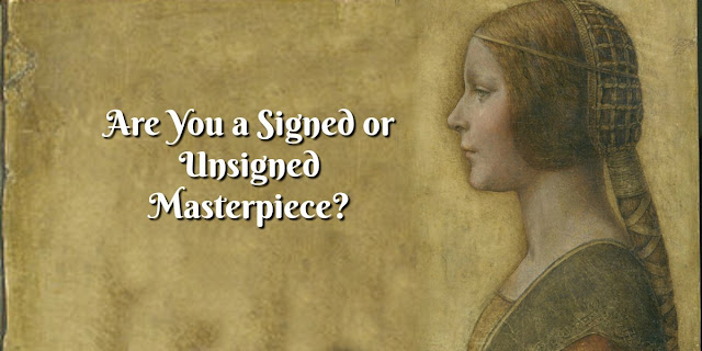 Are You a Signed or Unsigned Masterpiece link - 2 Corinthians 1:21-22, Ephesians 2:10