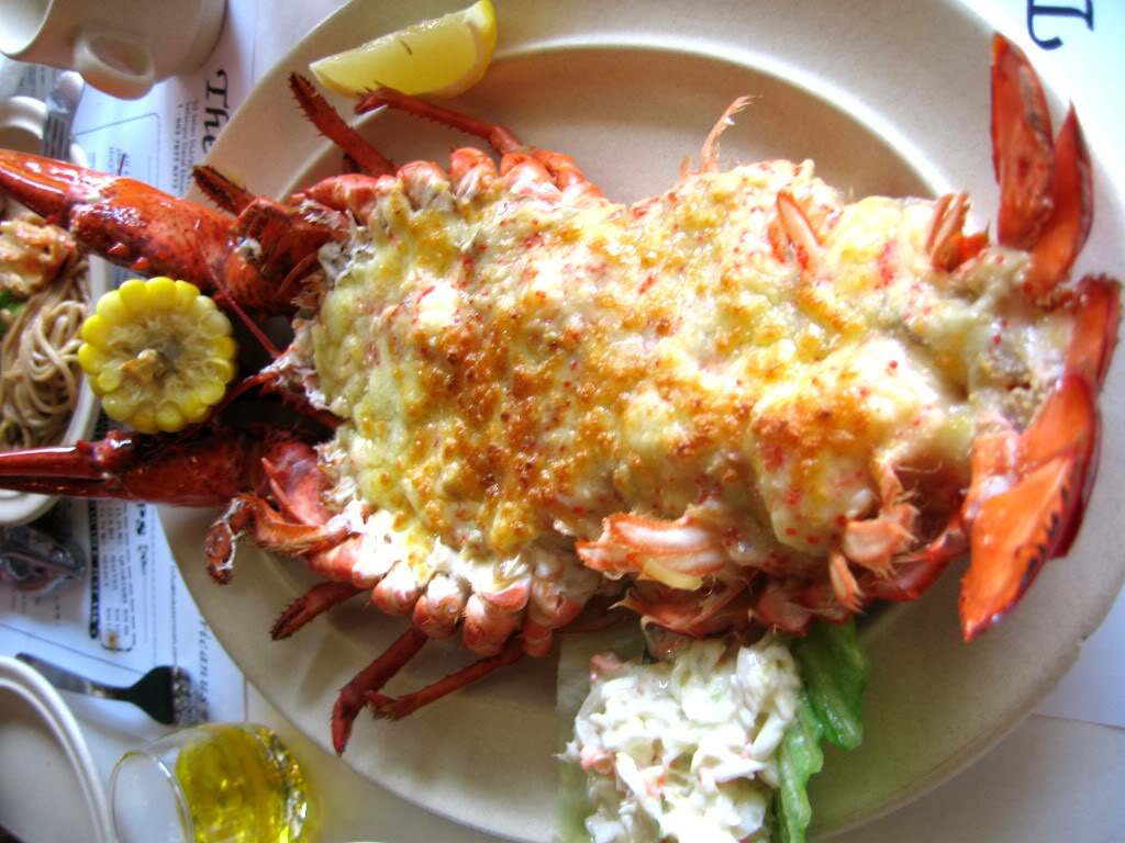 lobster mac and cheese lobster roll lobster salad lobster roll lobster ...