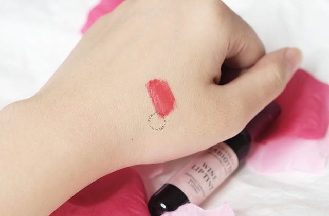 Review : CHATEAU LABIOTTE WINE LIP TINT #RD02 by Jessica Alicia