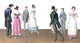 A dance from La Belle Assemblée (May 1820)