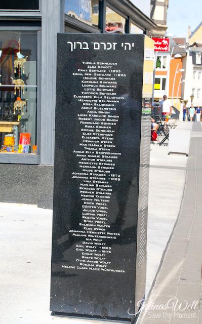 Denkmal in Bad Kreuznach für Juden