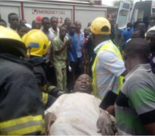 Two dead as a storey-building collapses in Lagos