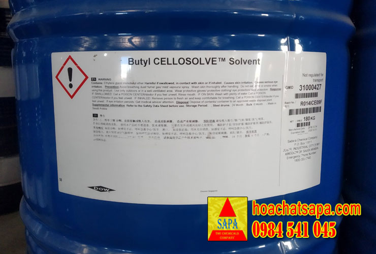 Butyl Cellosolve (BCS) chống mốc