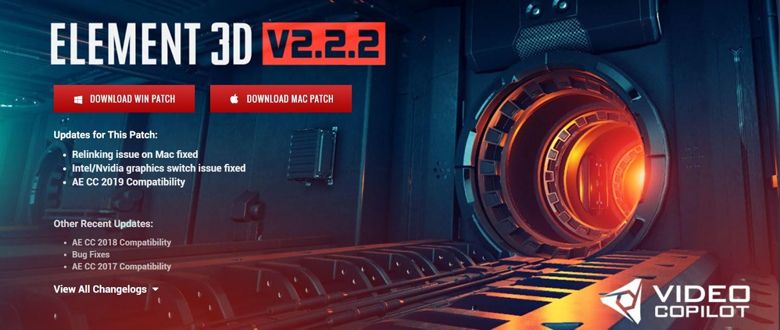 Element 3d Plugin After Effects Download Mac