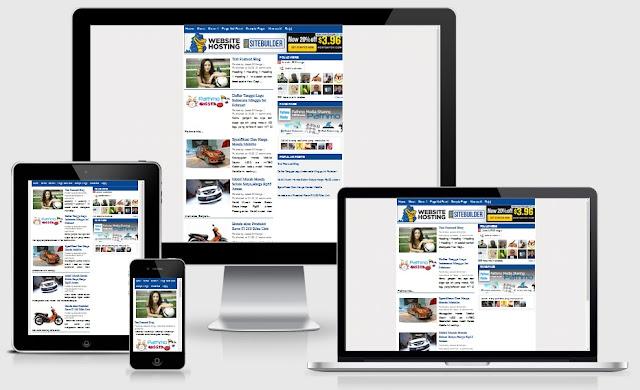 Responsive Oke Adsense Blogger Templates