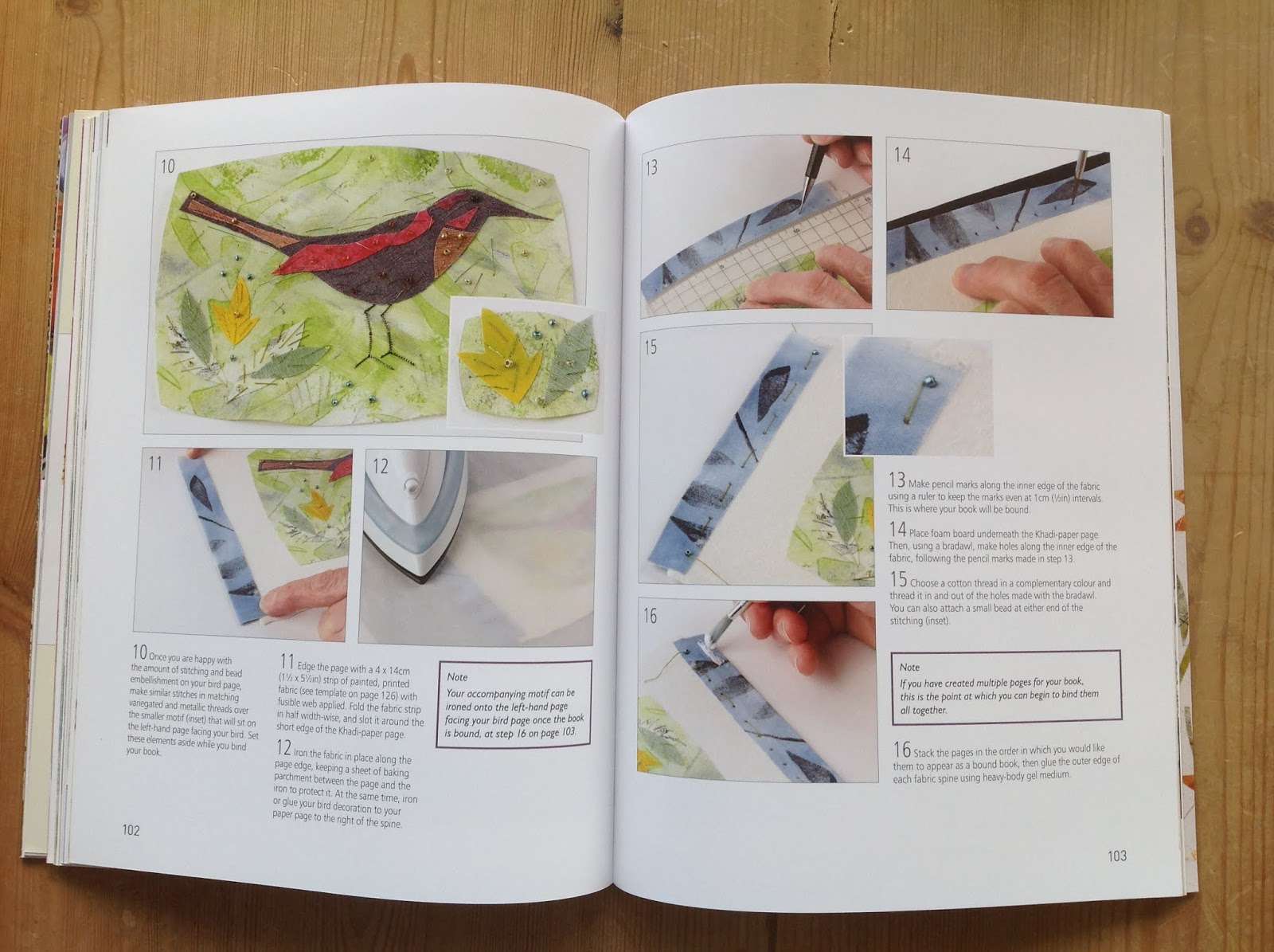 cut&alter: Stitched Textiles: Nature - A Book Review