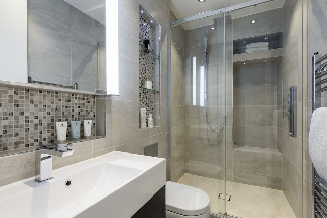 small bathroom design with shower
