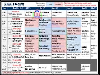jadwal dan panduan bdr juni 2020 di tvri