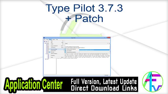 Type Pilot 3.7.3 + Patch