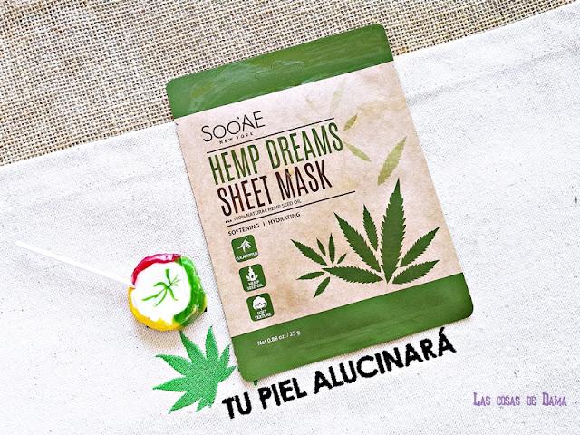 Hemp Dreams Sheet Mask Soonae sephora hemp cáñamo cbd cannabis beauty belleza