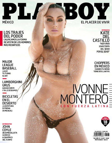 Ivonne Montero Playboy Abril 2017 [FOTOS - PDF]