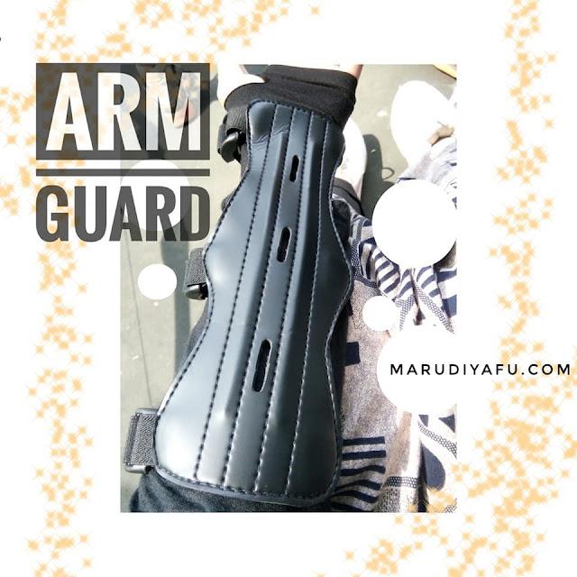 arm guard panahan, arm guard cartel, arm guard tokopedia, jual arm guard