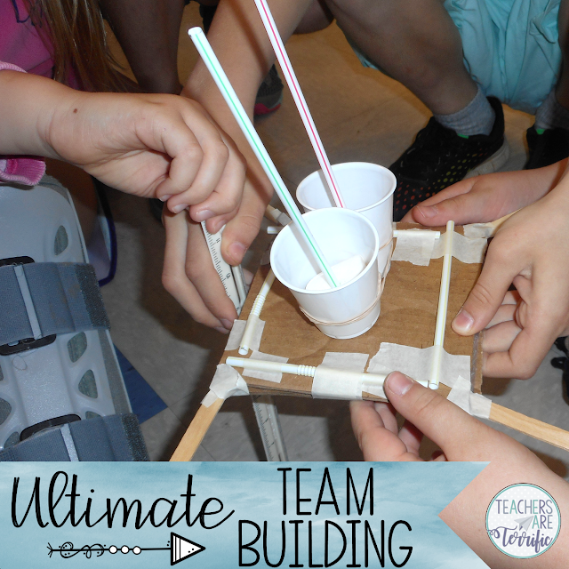 Team Building Games for the beginning of the school year! (Or all year long!)