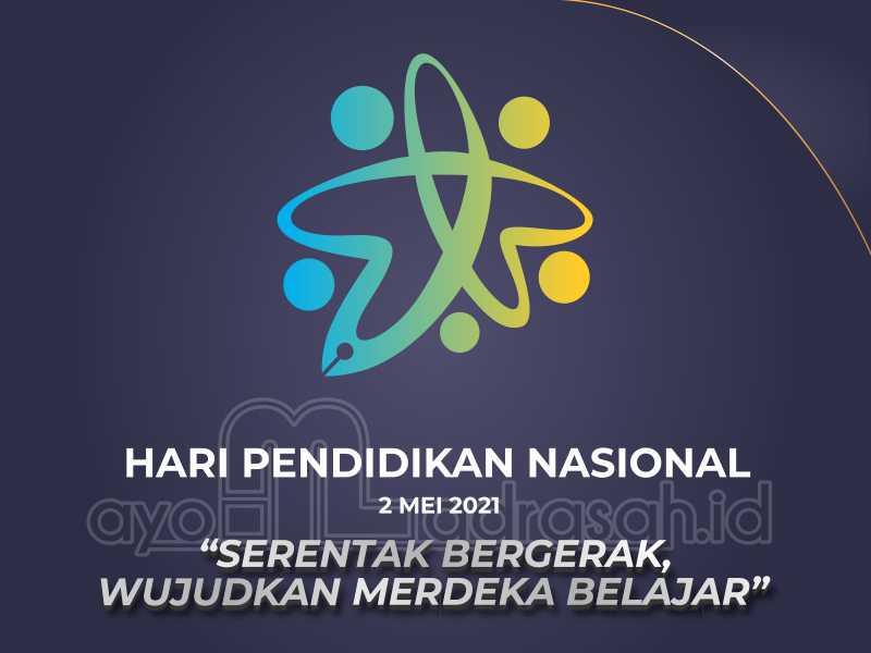 Logo dan tema Hardiknas 2021