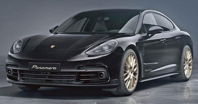 Porsche Panamera 10 Year Edition Commemorates ...