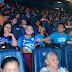 Crianças autistas lotam cinema em Macapá para sensibilizar sobre inclusão