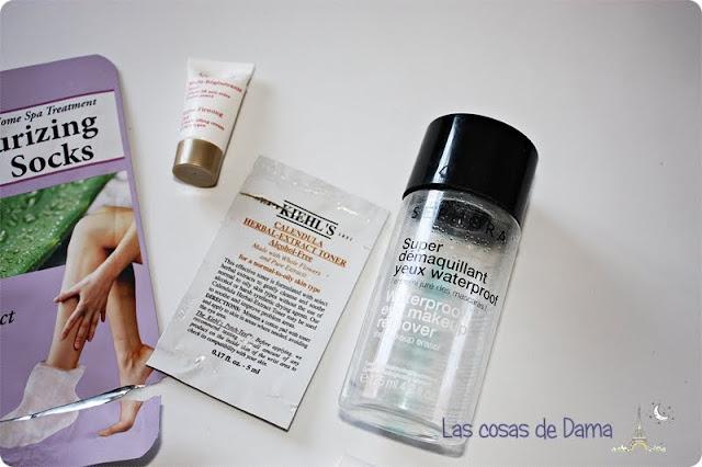 Productos terminados Clarins kiehls sephora
