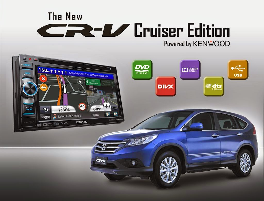 Honda Cars Philippines Has Added A New Variant To Their CR V The Cruiser Edition Available In Both 20 And 24 Liter Variants