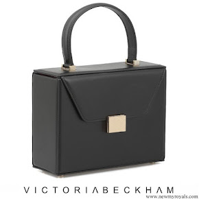 Meghan Markle carried Victoria Beckham Vanity Box Leather Tote