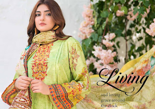 Yashika Mohterma Vol 1 Lawn Pakistani Printed Suits Collection