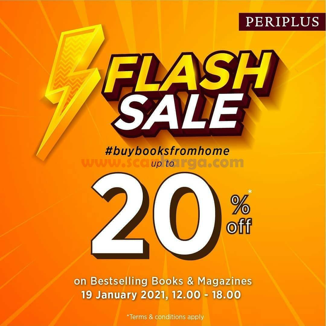 PERIPLUS FLASH SALE 20% off on Bestselling Books & Magazines!