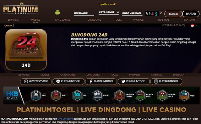 Trik Bermain live Dingdong 24D