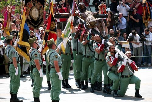 Infonacional Com A Las 10 30 Desembarco De La Legión En Malaga