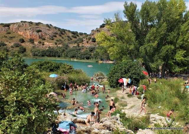 zonas de baño en Castilla La Mancha