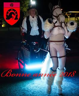 Pony Alcyone, Driver Paul à la soirée de l'Elixyr le 25 novembre 2017. Cliché : ErosPower