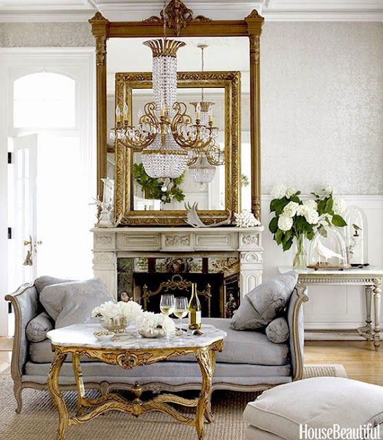 South Shore Decorating Blog: Lighting And Mirrors Make The