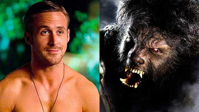 Ryan Gosling será El Hombre Lobo en una nueva película de los monstruos de la Universal