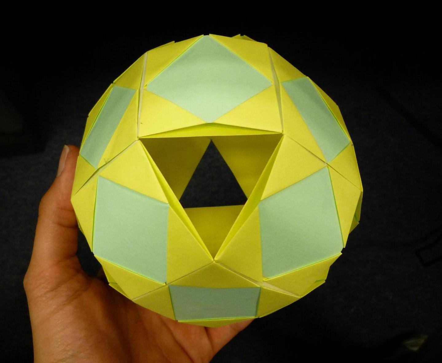 Creaciones en Origami: Esfera / Sphere - photo#29