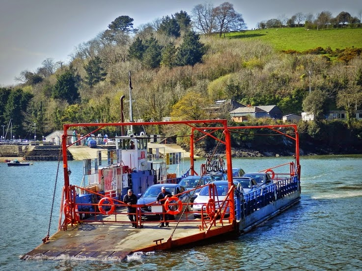 Bodinnick Ferry, Cornwall